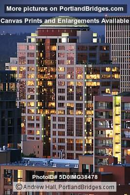1000 Broadway Building, Dusk (Portland, Oregon)