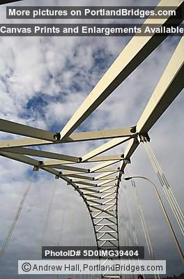Portland Fremont Bridge Looking Up