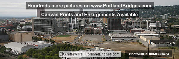 Portland Pearl District from Fremont Bridge