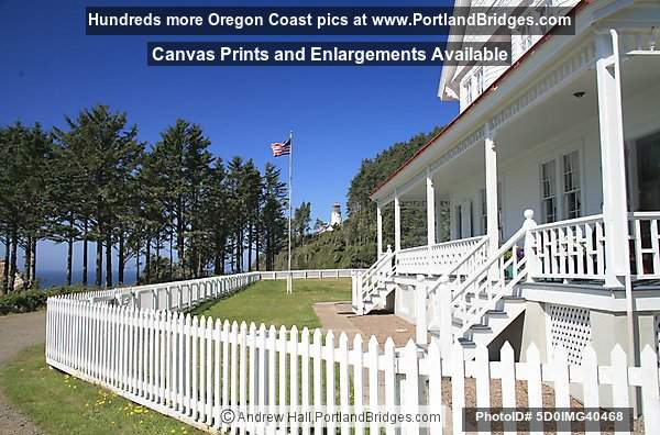 Heceta Head Lighthouse, Keeper's House