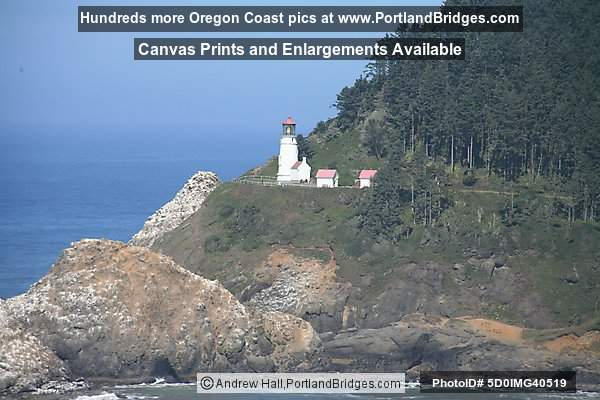 Heceta Head Lighhouse, View