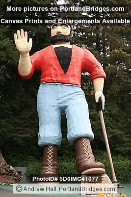Paul Bunyan Statue, Trees of Mystery