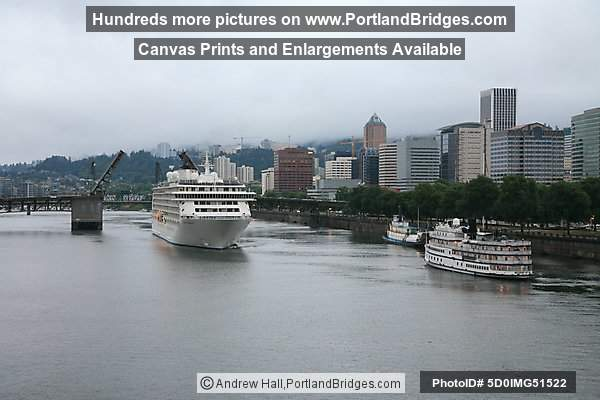 The World, Sailing, from Portland, Oregon, June 19, 2009