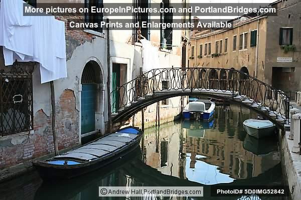 Canal, Bridge, Venice