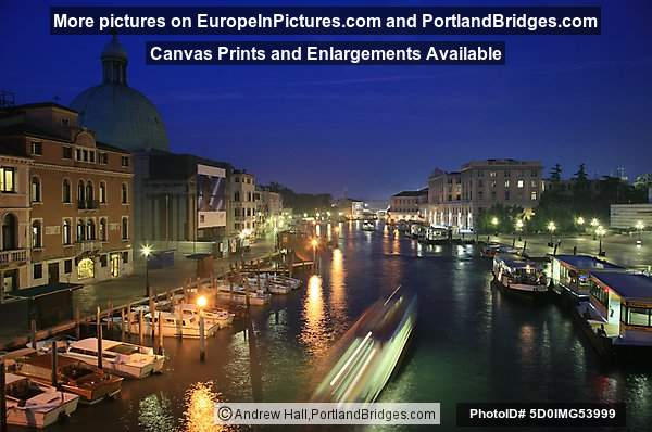 Grand Canal, Venice, Daybreak