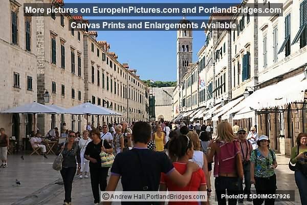 Walking Inside Dubrovnik Old City