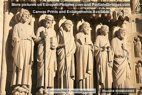 Figures on Notre Dame