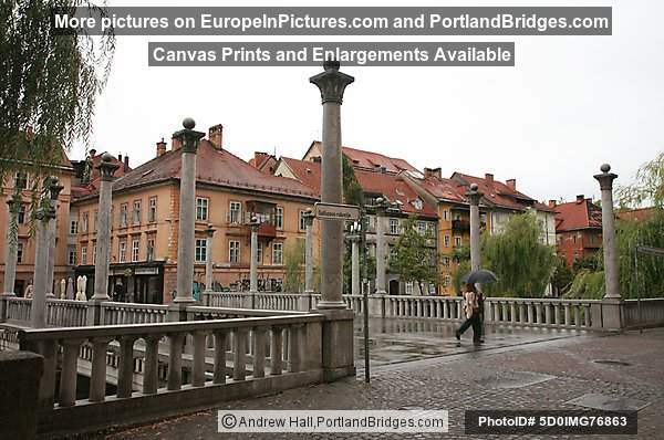 Cobbler's Bridge (Shoemakers' Bridge), Ljubljana