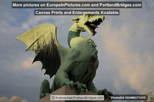 Dragon Bridge, Ljubljana