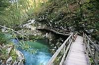 Vingtar Gorge, Slovenia