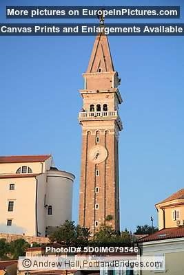 Bell Tower, Cathedral of St. George, Piran