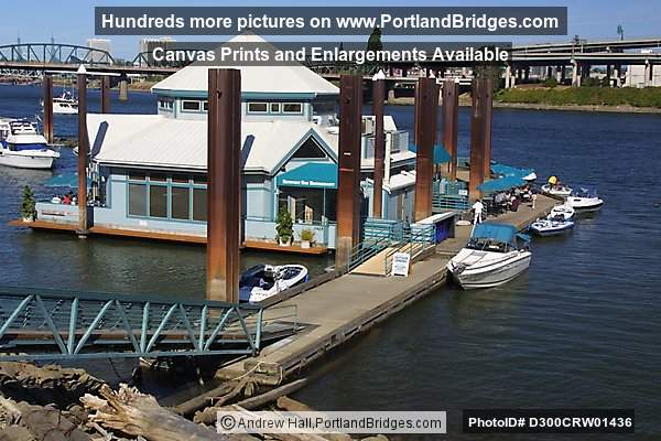 Newport bay foating restaurant now marina fish house at for Fishing in portland oregon