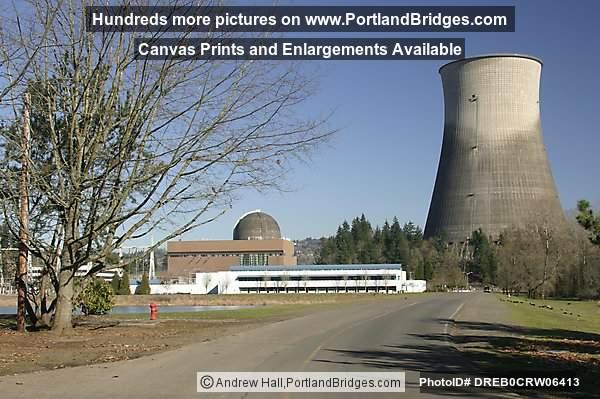 Former Trojan Nuclear Power Plant Photo DREB0CRW06413