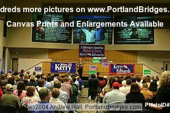 Howard Dean Rally at Portland State