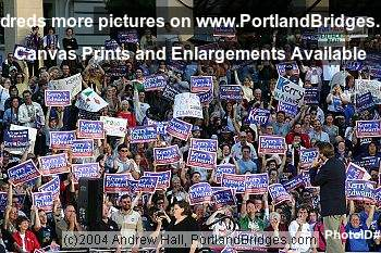 John Edwards Rally Portland