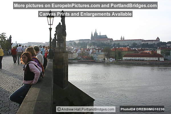 Prague Charles Bridge, Castle