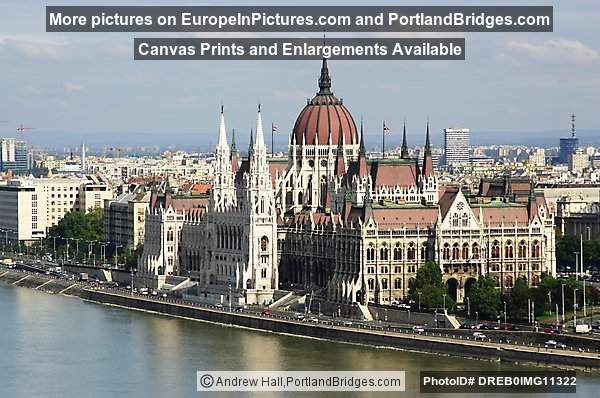 Parliament Building, Daytime, Budapest