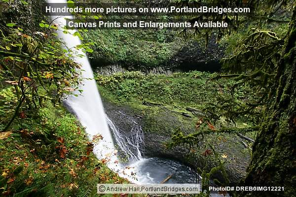 Silver Falls State Park:  Middle North Falls