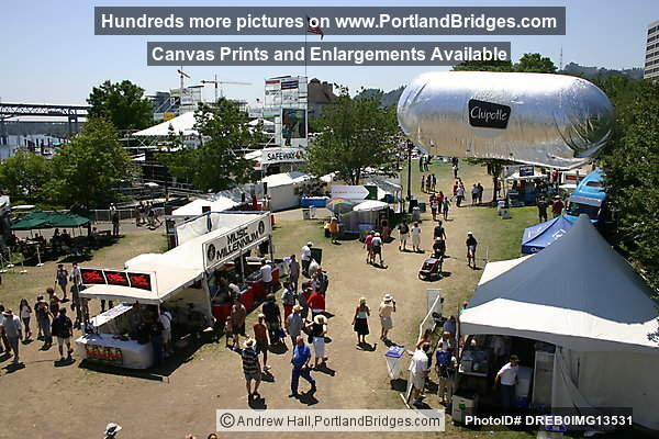 Portland, Waterfront Blues Festival, Concessions, 2006