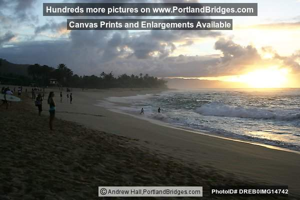 Oahu, Hawaii, North Shore, Sunset Beach