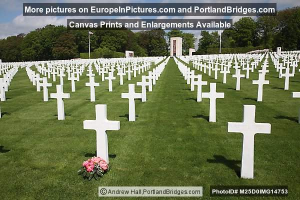 Luxembourg American Cemetery and Memorial, Hamm, Luxembourg