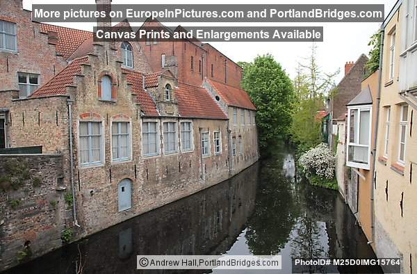 Buildings, Canal, Brugge
