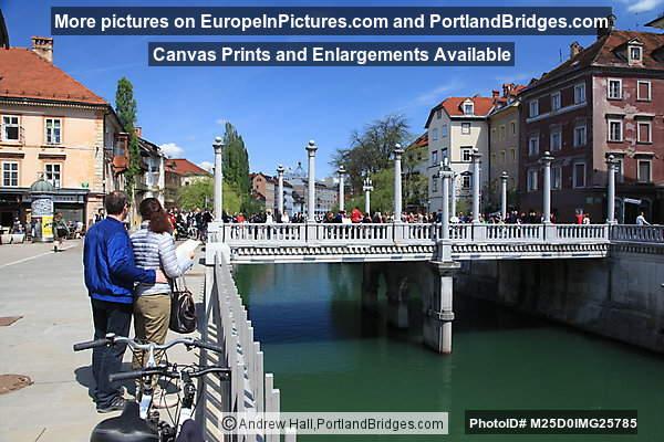 Cobbler's Bridge, Ljubljana