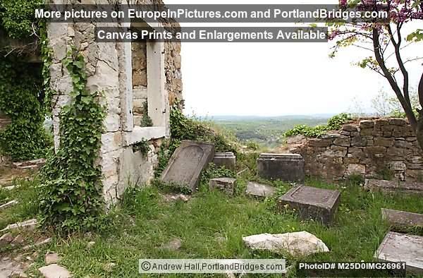 Ruined Church in Buje, Istria