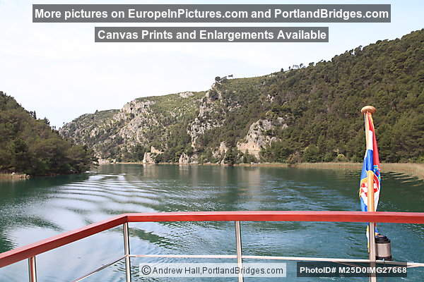 Krka RIver from the boat