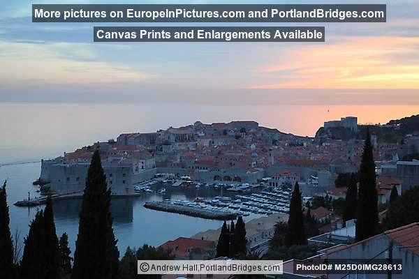 Dubrovnik, Dusk