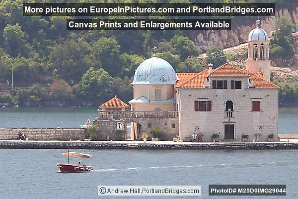 Church of Our Lady of the Rocks, Bay of Kotor, Montenegro