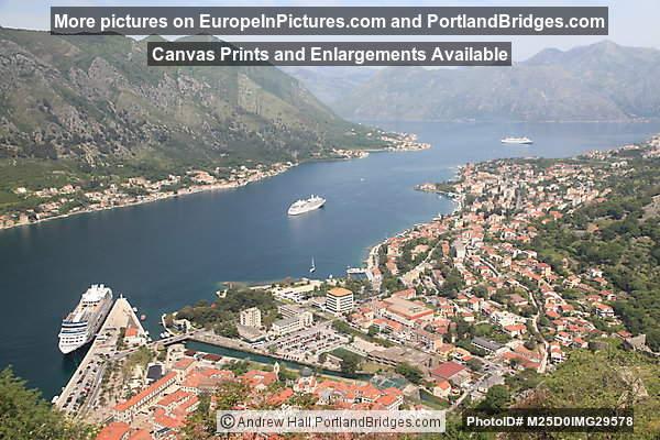 Bay of Kotor from Town Walls