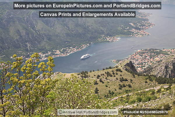 Bay of Kotor, View from Above