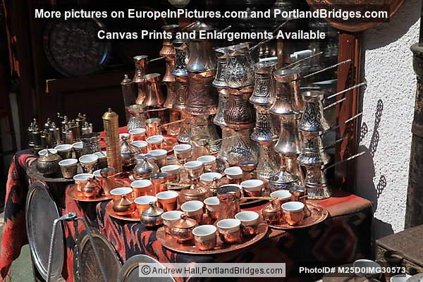 Coppersmiths' Street Items For Sale, Sarajevo