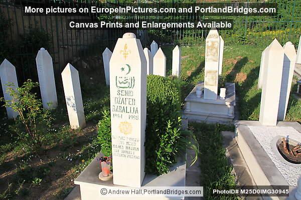 Martyrs' Memorial Cemetery Kovači, Sarajevo