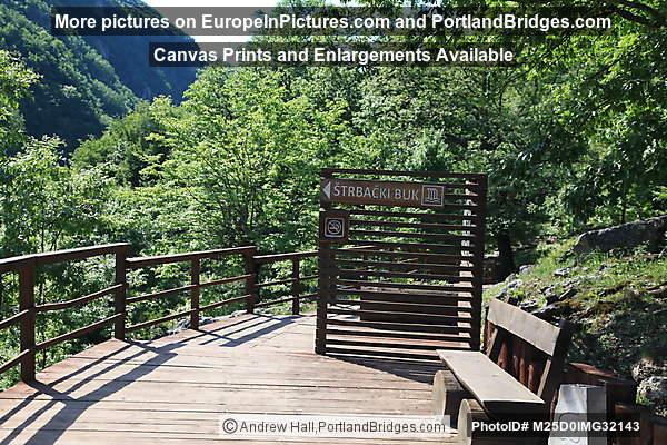 Viewing Platform for Štrbački buk, Una National Park