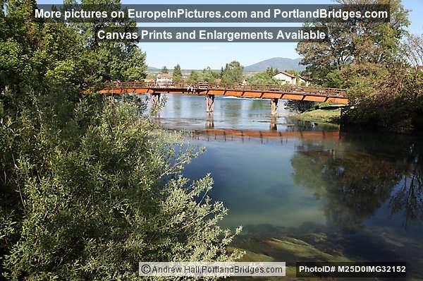 Una River Bridge, Bihać, Bosnia and Herzegovina