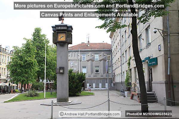 Town Clock, Šiauliai, Lithuania