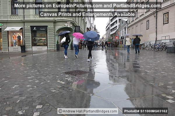 Rainy Day in Ljubljana