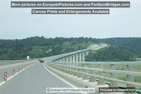 Viaduct, Driving Across the Ipsilon, Istria