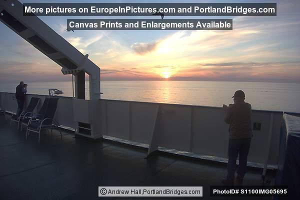 Sunset from Deck of Princess Maria