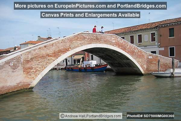 Bridge on Murano, Venice