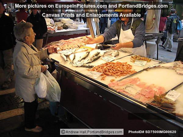 Rialto fish market venice photo sd7500img00620 for Portland oregon fish market