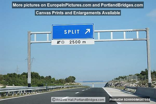 A1 - Offramp to Split, Croatia