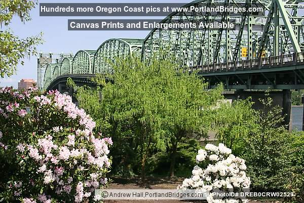 Interstate Bridge Between Oregon and Washington