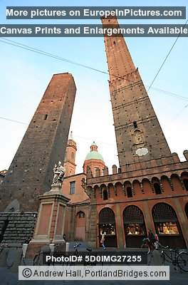 Bologna, Italy:  Asinelli and Garisenda Towers