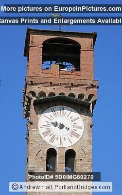 Torre delle Ore (Medieval Clock tower), Lucca, Italy