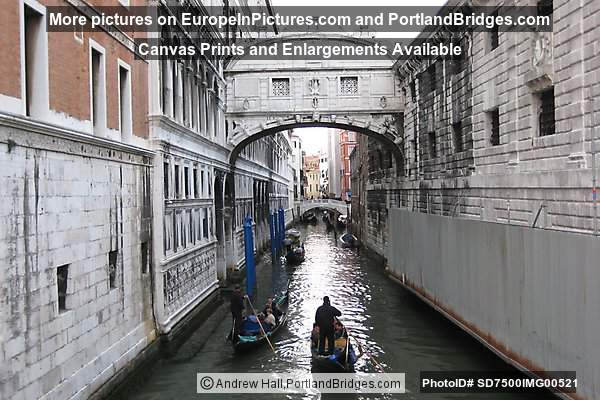 Bridge of Sighs (Ponte dei Sospiri), Venice