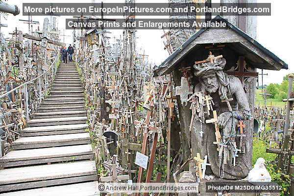 Hill of Crosses, near Šiauliai, Lithuania