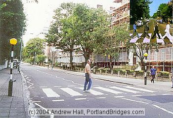 Your photographer at Abbey Road